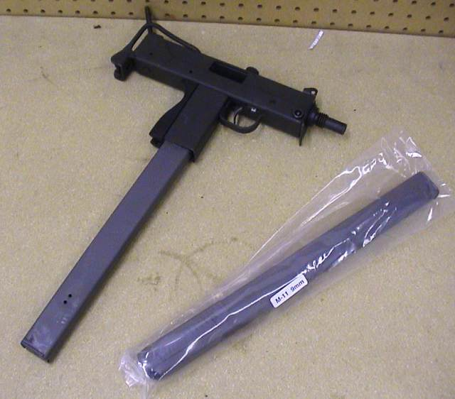 M11A1 MAC-11 Modification To Accept Glock Magazines
