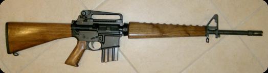 wood_AR-15
