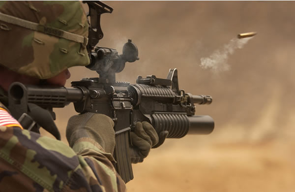m4 carbine Afghanistan