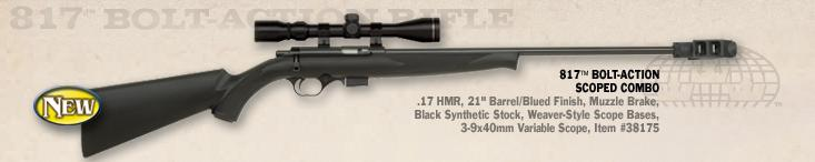 mossberg817BoltAction