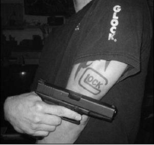 Arm-Glock-Logo-Tattoo