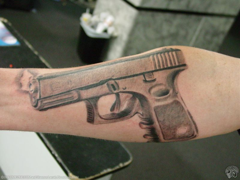 Glock Tattoos | Gun Blog