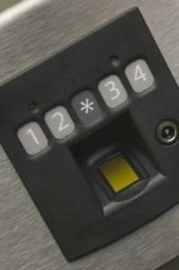 Biometric-In-Wall-Safe