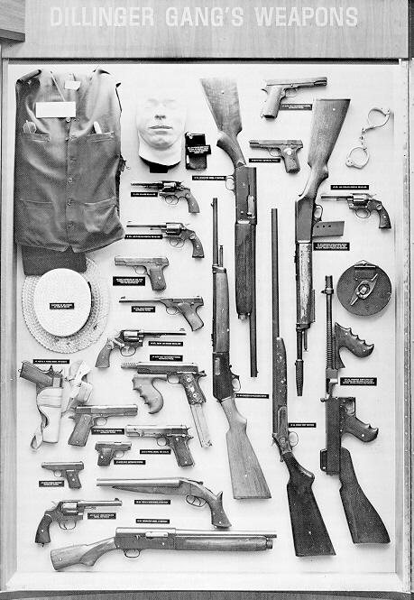 Dillinger-Gang-Weapons