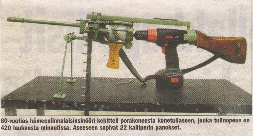 Drill-powered-machine-gun