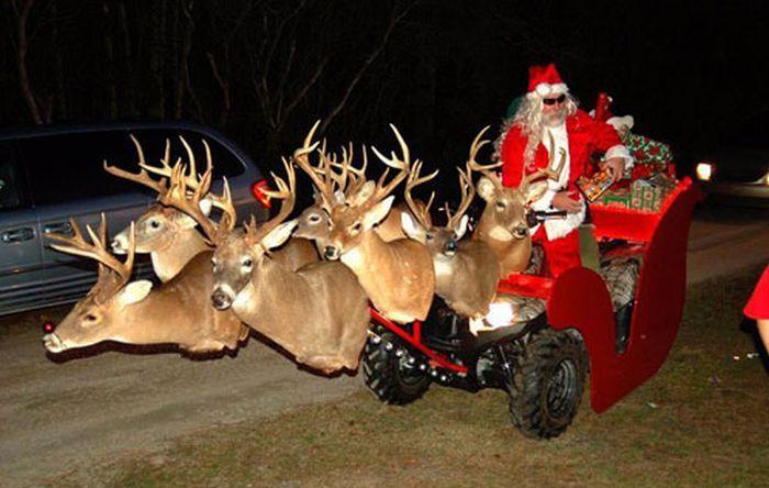 Redneck-santa-deer-atv