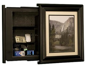 Remote-Operated-In-Wall-Safe