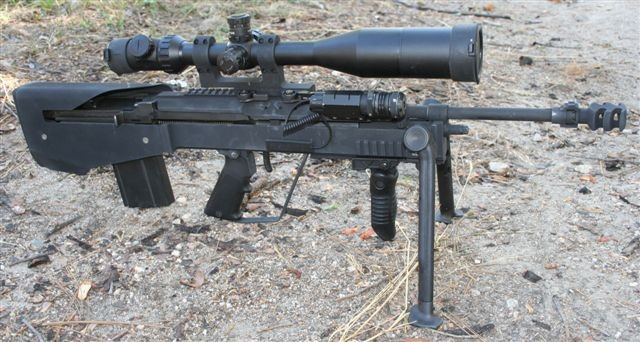 M14 / M1A bullpup stock conversion M14 Bullpup