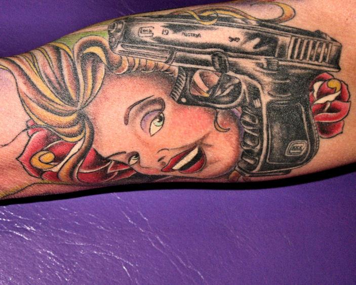 tattooglockface
