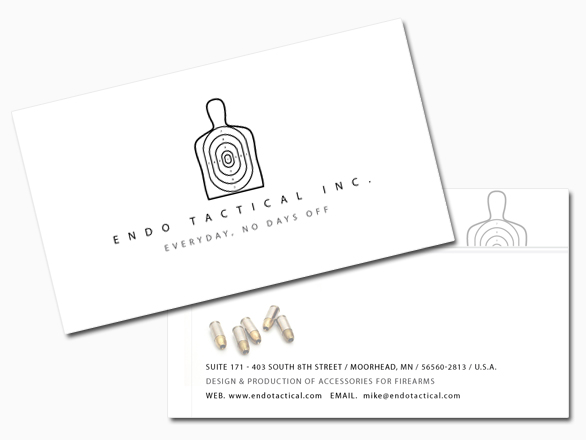 Can your current business cards shoot stuff didnt think so dont get me wrong i like my current endo tactical business cards they are very simple clean looking and nice and thick colourmoves