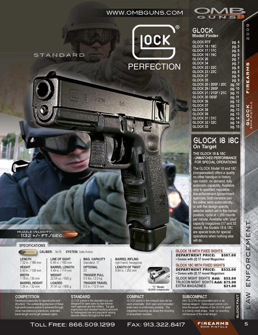 As you can see the Glock 18 ...