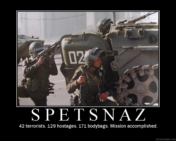 Cheap Cool Stuff >> Russian Spetsnaz Operator Competition
