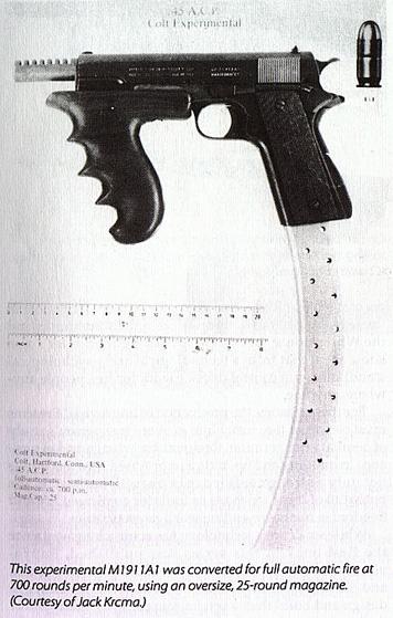 Colt M1911A1 Full Auto Pistol