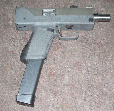 M11A1 MAC-11 Modification To Accept Glock Magazines