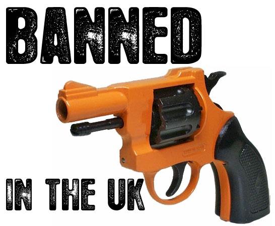 Starter Pistols Soon Illegal In The UK
