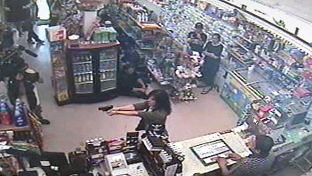 Cops Nearly Shoot Actor Playing Convenience Store Robber