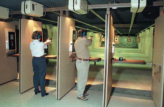 Deranged Gunman Opens Fire On Shooting Range