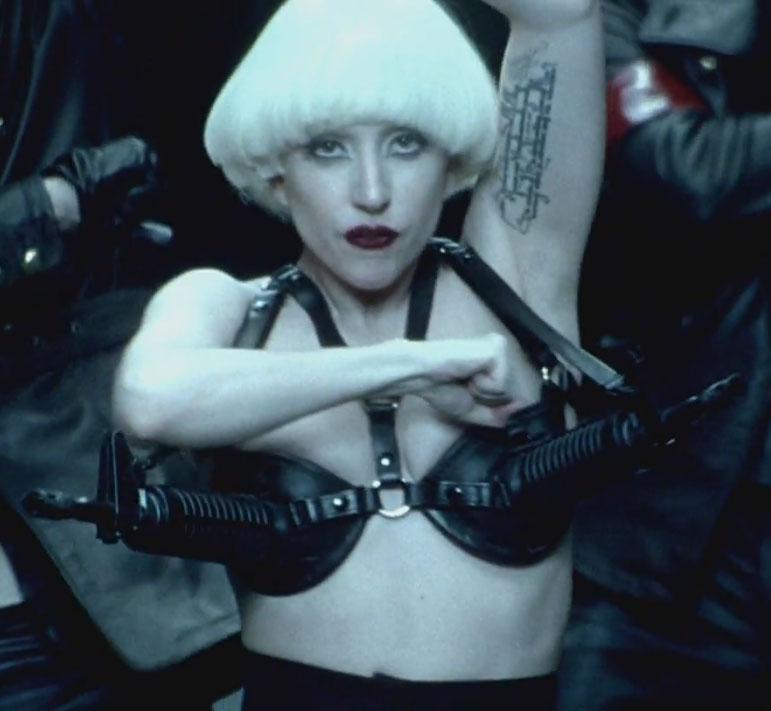 Lady-Gaga-Alejandro-AR-15-SBR-Bra-2