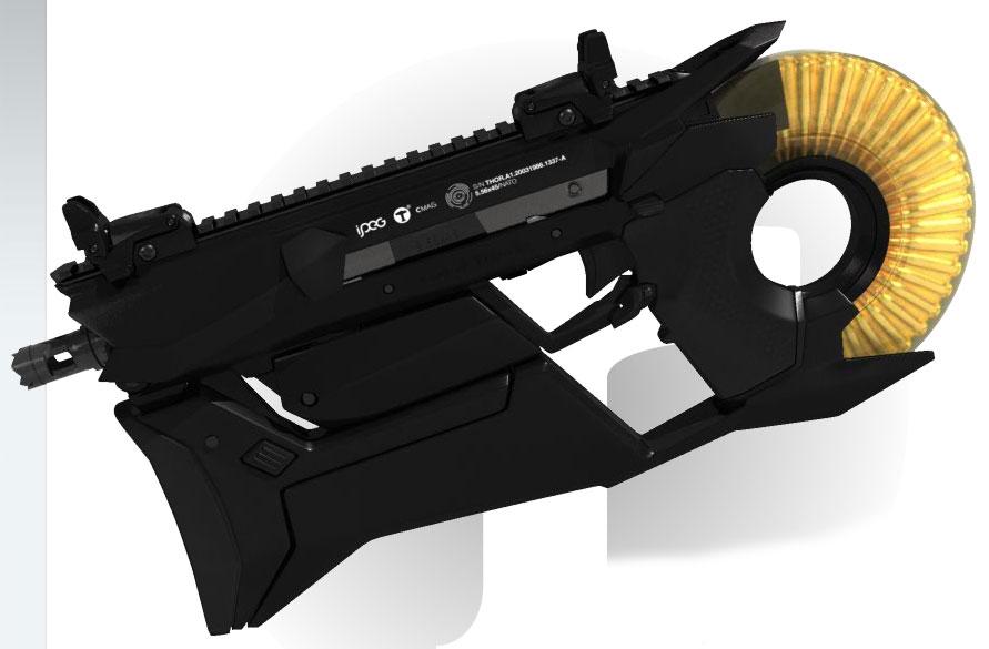 Futuristic Weapon Desi...