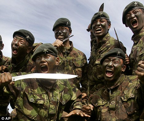 Gurkha Soldier Disciplined For Beheading Taliban Warlord