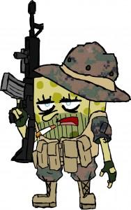 Spongebob-Squarepants-Operator-Rifle-AR-15