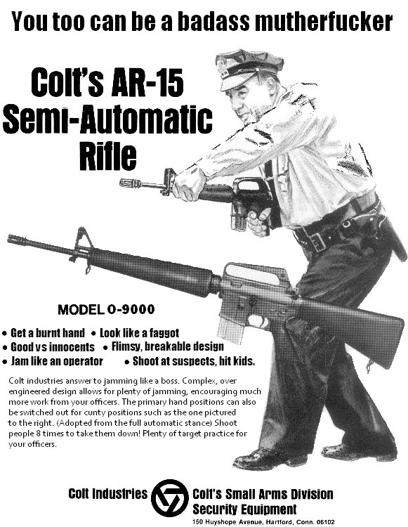 Colt-AR-15-Rifle-Advertisement-Law-Enforcement-Humor