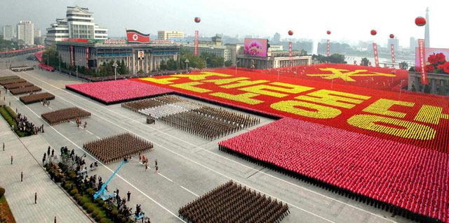 http://www.everydaynodaysoff.com/wp-content/uploads/2010/10/North-Korea-Military-Parade-65th-Anniversary-Workers-Party.jpg