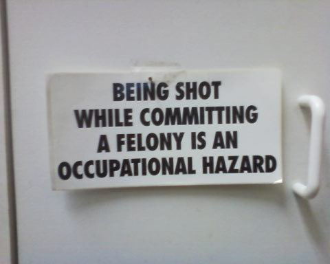 felony-occupational-hazard-sign