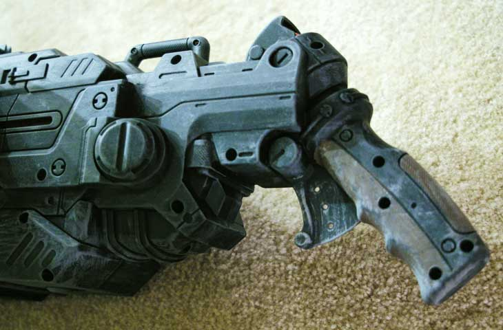 Realistically Painted Nerf Guns