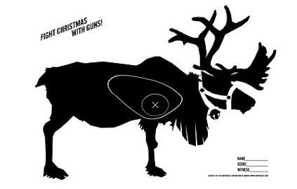 Christmas-Reindeer-Shooting-Target