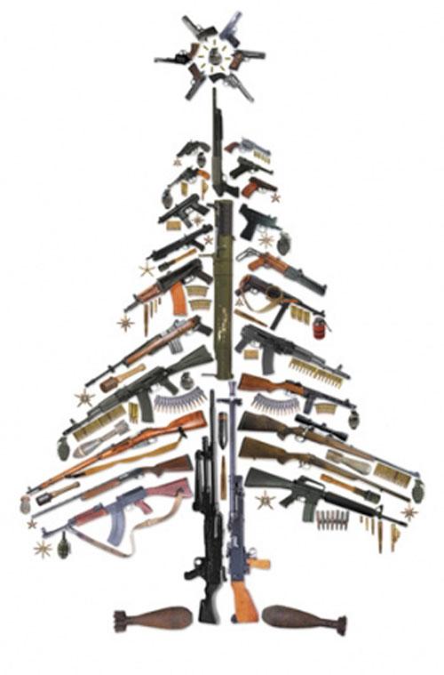 Gun-Christmas-Tree