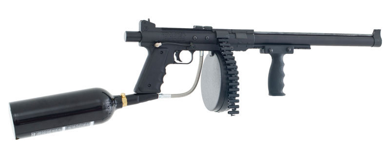 fully automatic pellet machine gun
