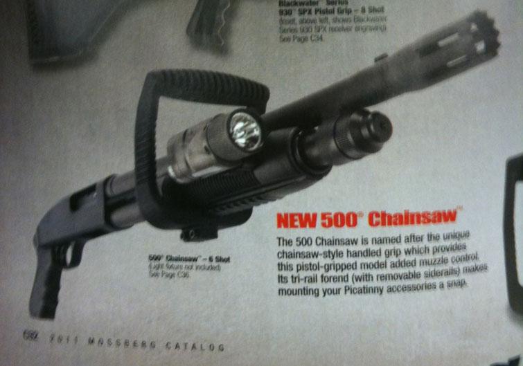 Mossberg 500 Chainsaw