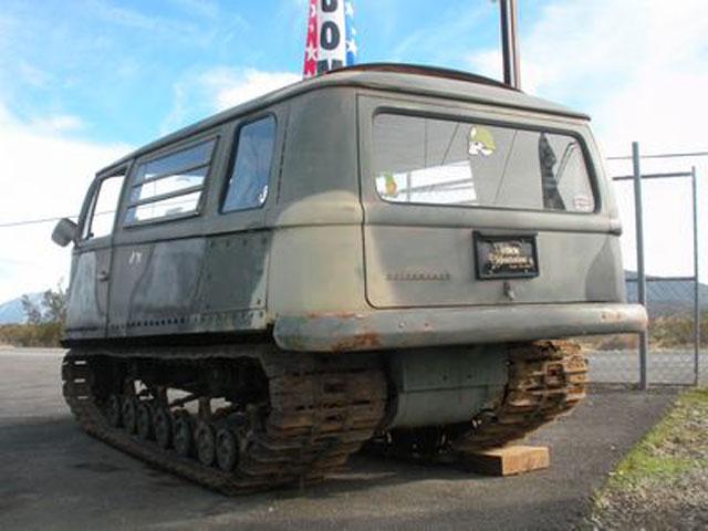 VW Bus Tank Conversion