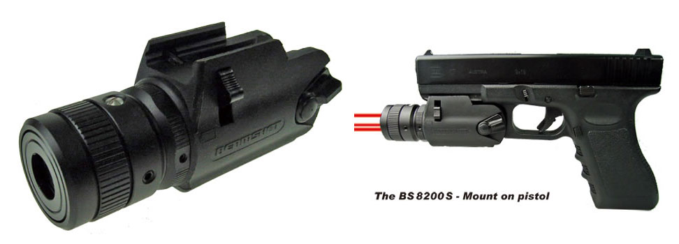 Beamshot Three Beam Predator Style Laser Sight