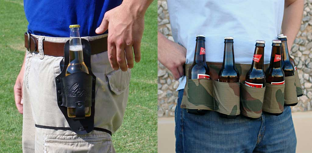 Leather Beer Holster Beer Holsters