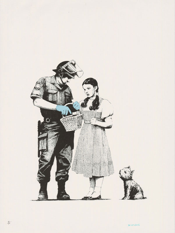 Dorthy-Wizard-Of-Oz-Police-State