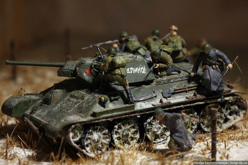 Diorama The Force of Steel - Axis History Forum
