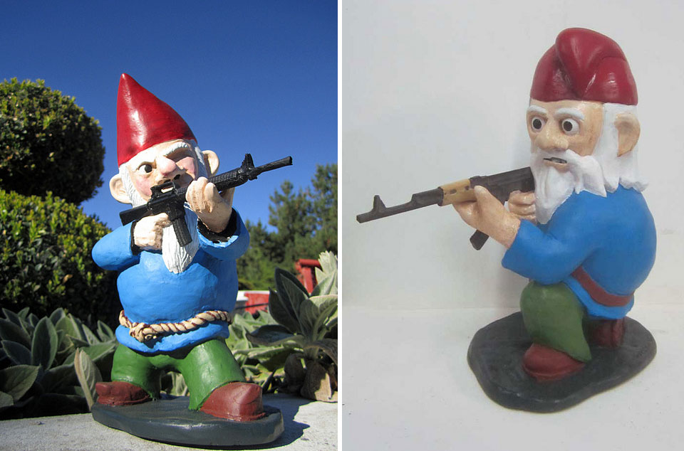 A New Twist On The Old Played Out Garden Gnome: