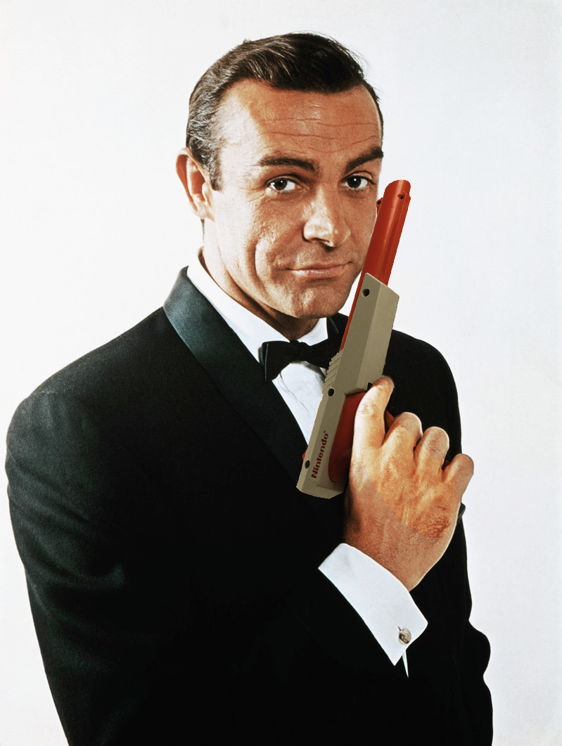 James-Bond-007-Tuxedo-NES-Nintendo-Zapper