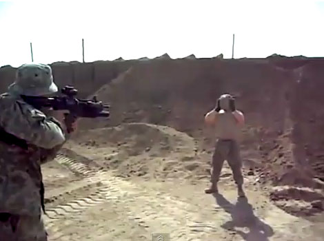 40mm Bean Bag Grenade To The Chest Like A Boss
