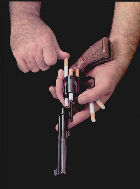 cigarette-revolver-advertisement-anti-smoking