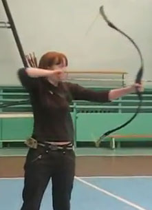 Iza-Privezenceva-Archery-Bow-And-Arrow