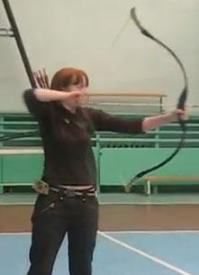Iza-Privezenceva-Archery-Bow-And-Arrow
