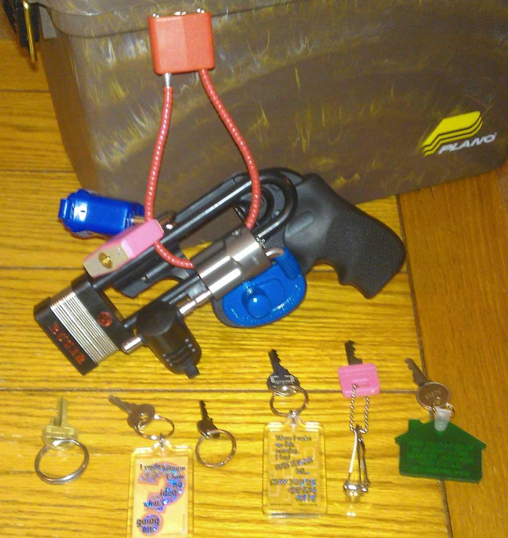 Gun Safety Locks : Gun safety extremes