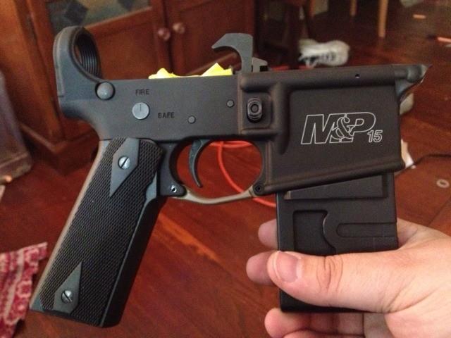 1911 Grips On An AR-15??? - AR15 COM