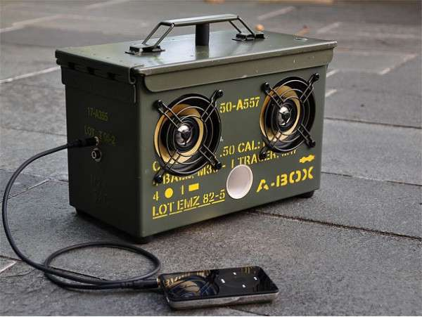 Diy Ammo Can Speaker Box