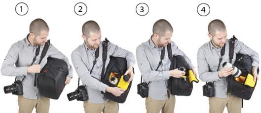 Revolver-Camera-Backpack-Kata-Demo