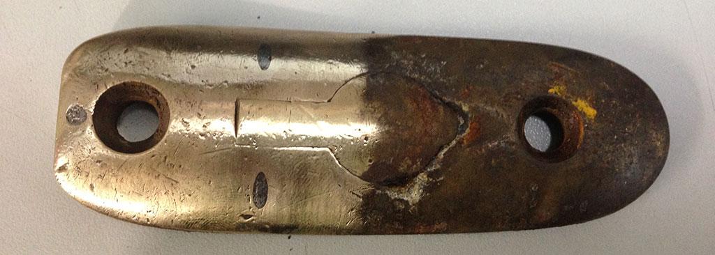 Enfield-Butt-Plate-Rust