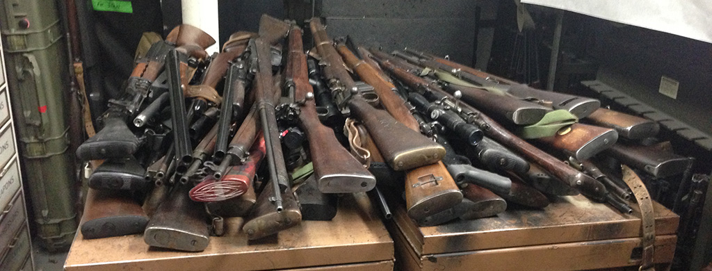 Hurricane-Sandy-Gun-Collection-After-Cleaning